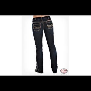 Cowgirl Tuff Sunset BootCut Jeans 29x35